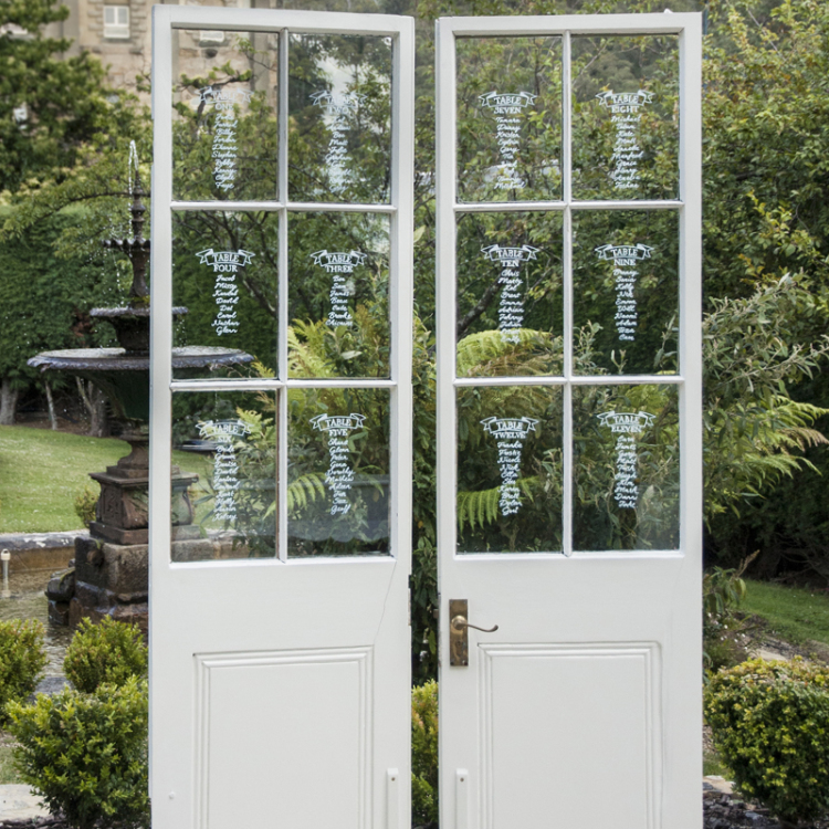 French doors - Style my day - Wedding and Event - Hire and styling