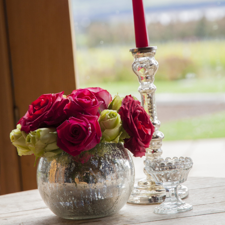 centrepieces - mercury silver - Style my day - Wedding and Event - Hire and styling