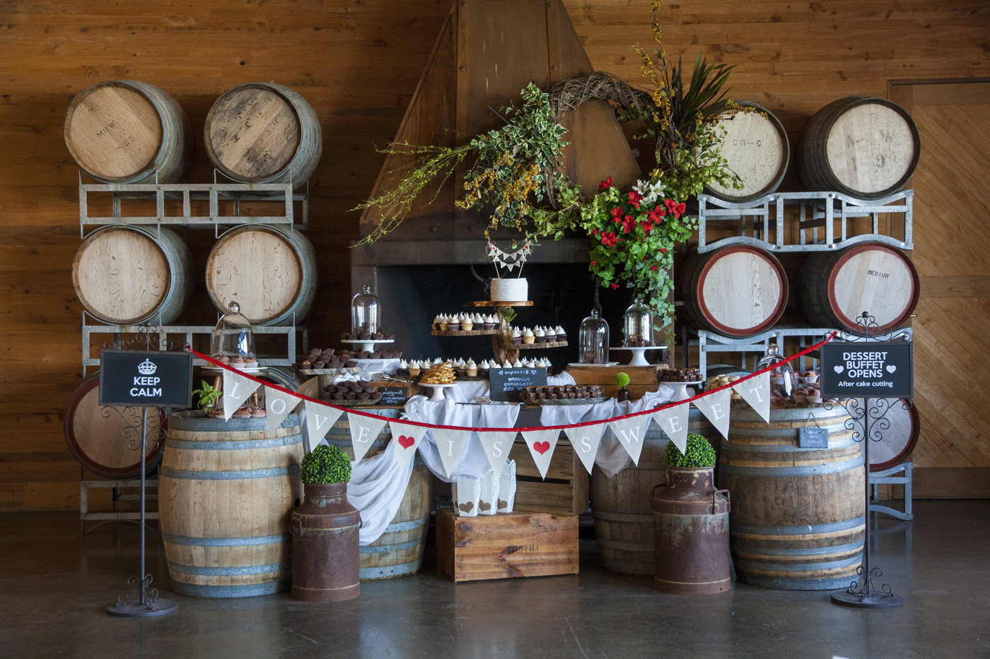Style my day - Elise & Matt - Frogmore Creek Winery
