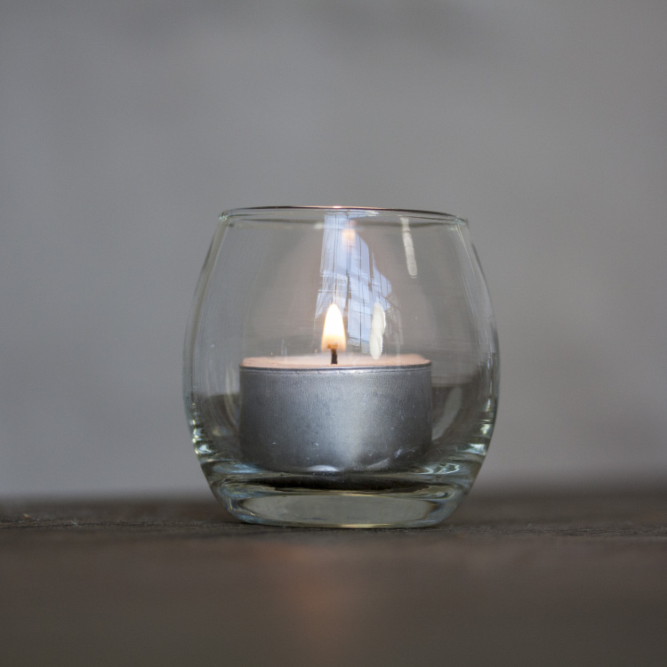 glass tea light Style my day