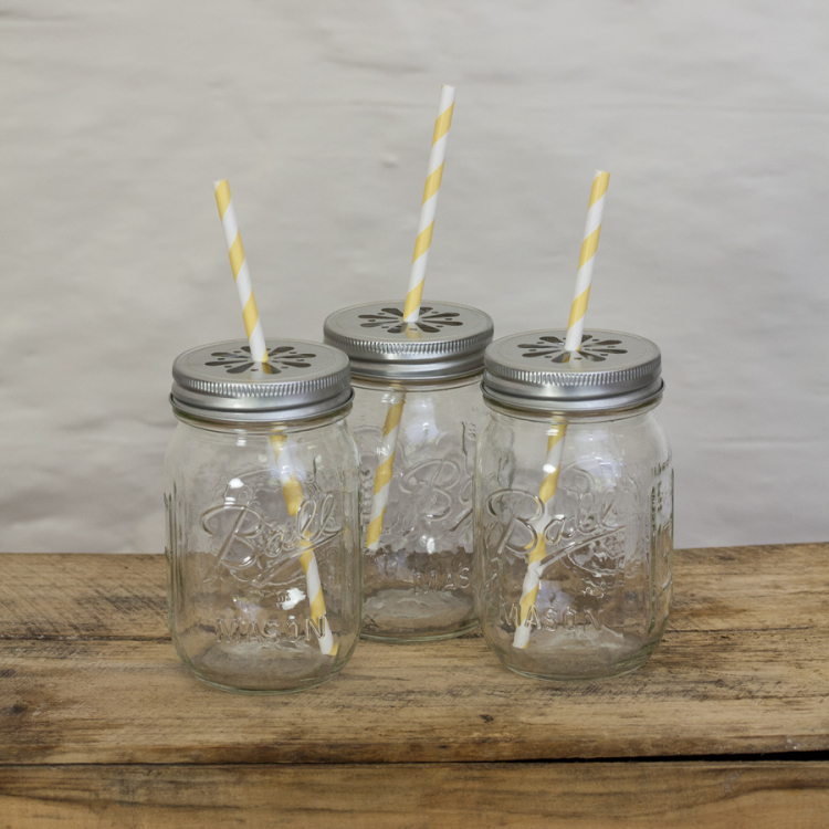 mason jars drinking - Style my day - Wedding and Event - Hire and styling