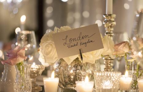 Style my day - Wedding reception - Indoor rainforest - Romantic Lighting Mercury glass, centrepieces, mirrors,