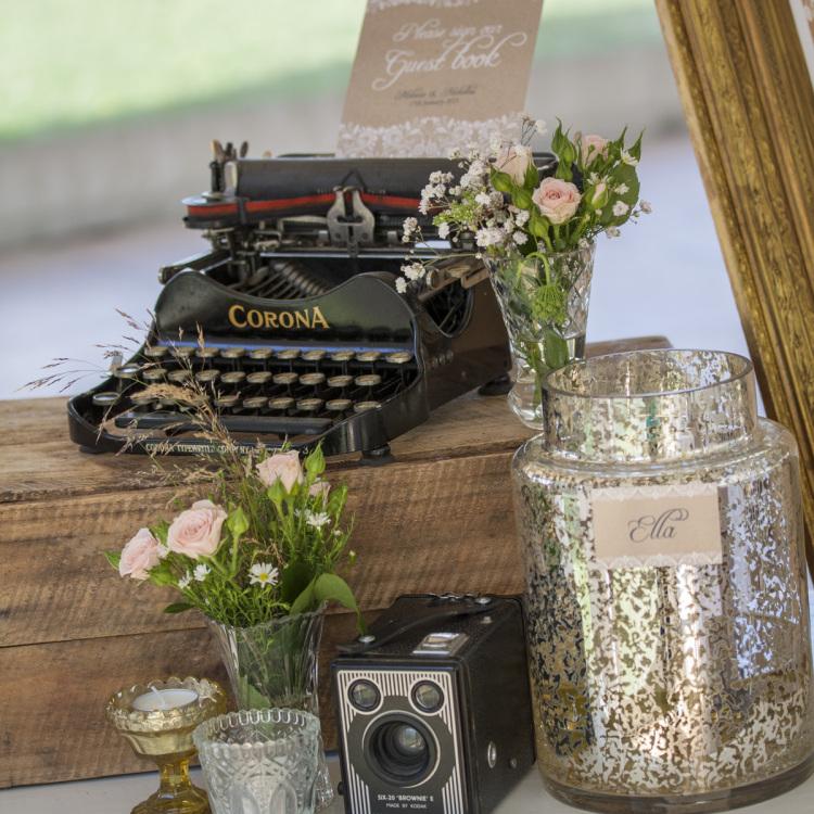 Mel & Nick - Redlands - Vintage Wedding
