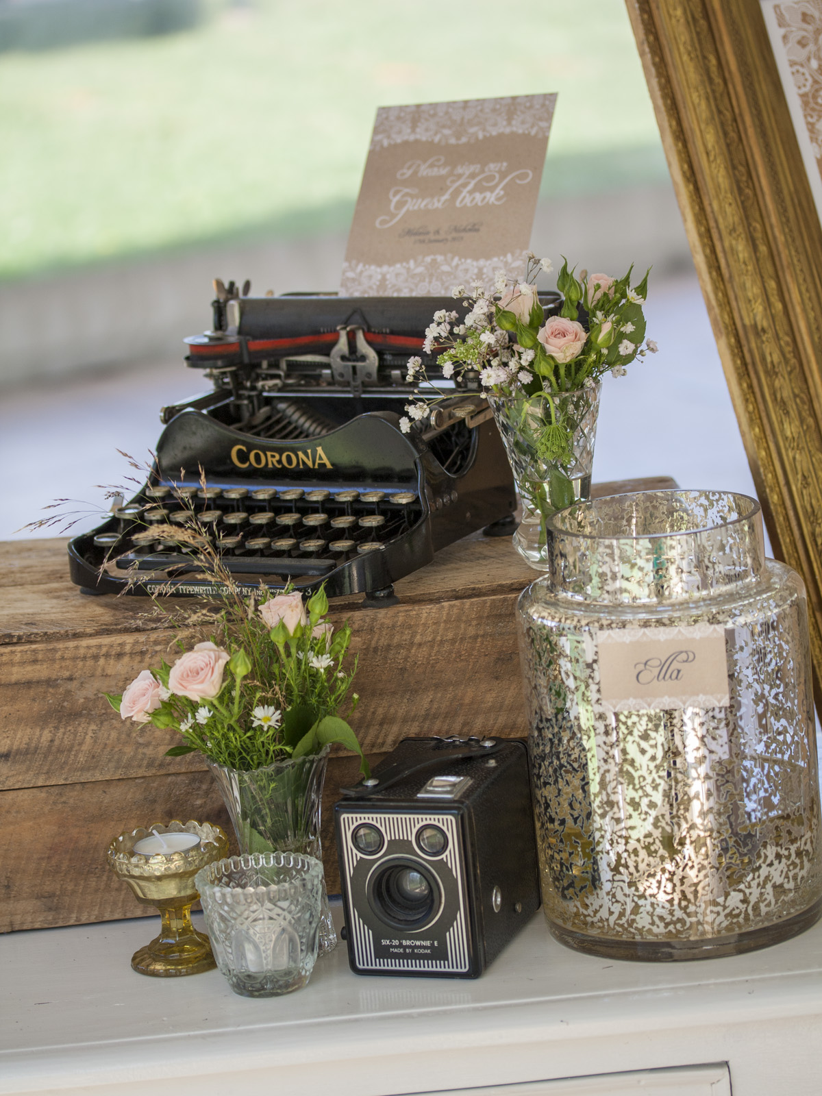 Mel & Nick - Redlands - Vintage Wedding