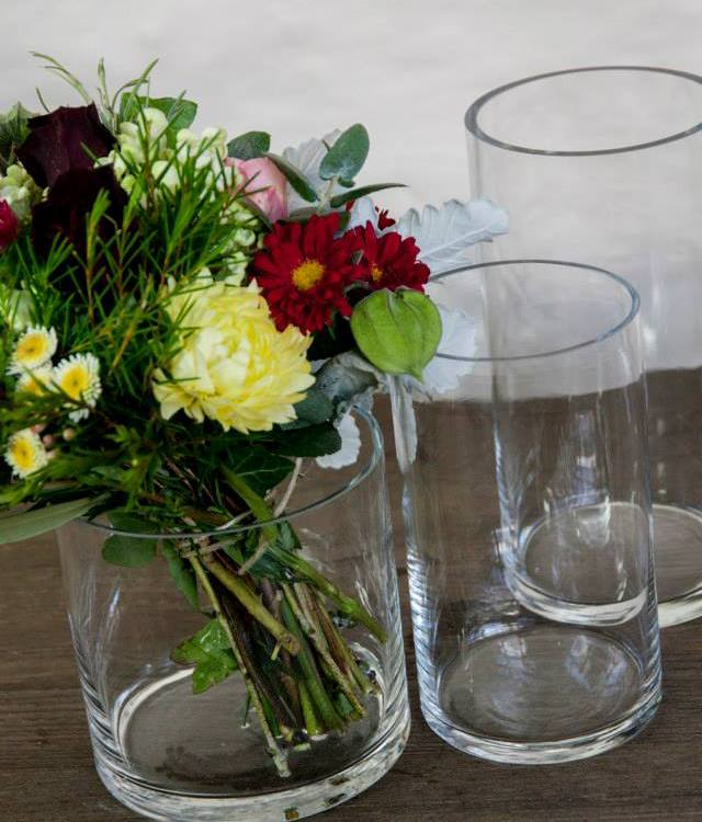 cylinder vases Style