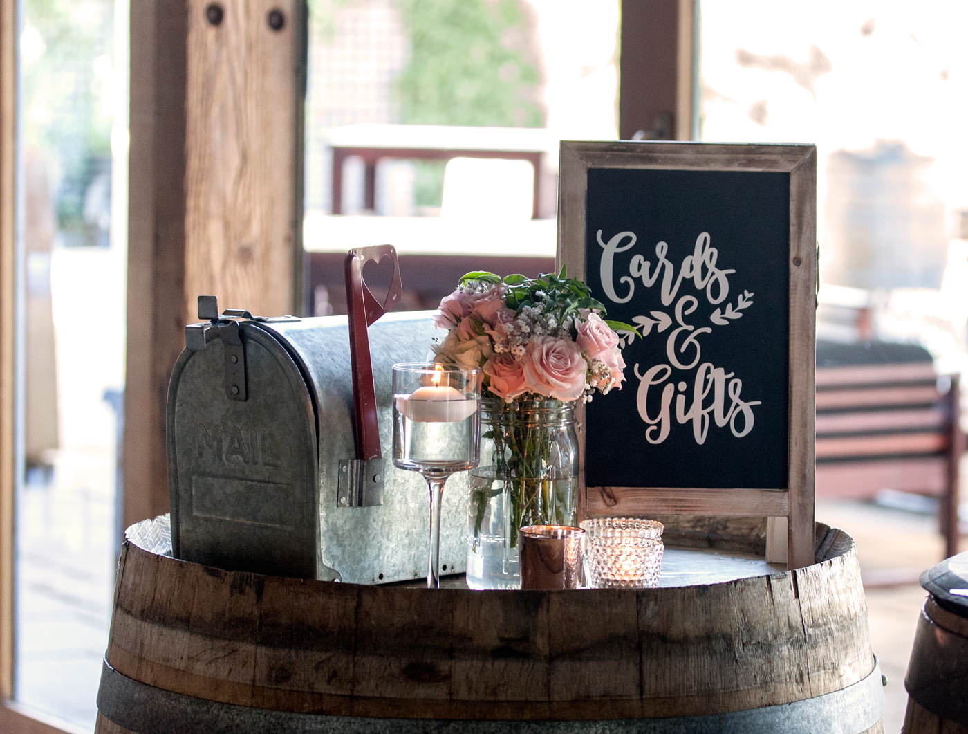 Style my day - Megan & Andrew - Frogmore Creek Winery