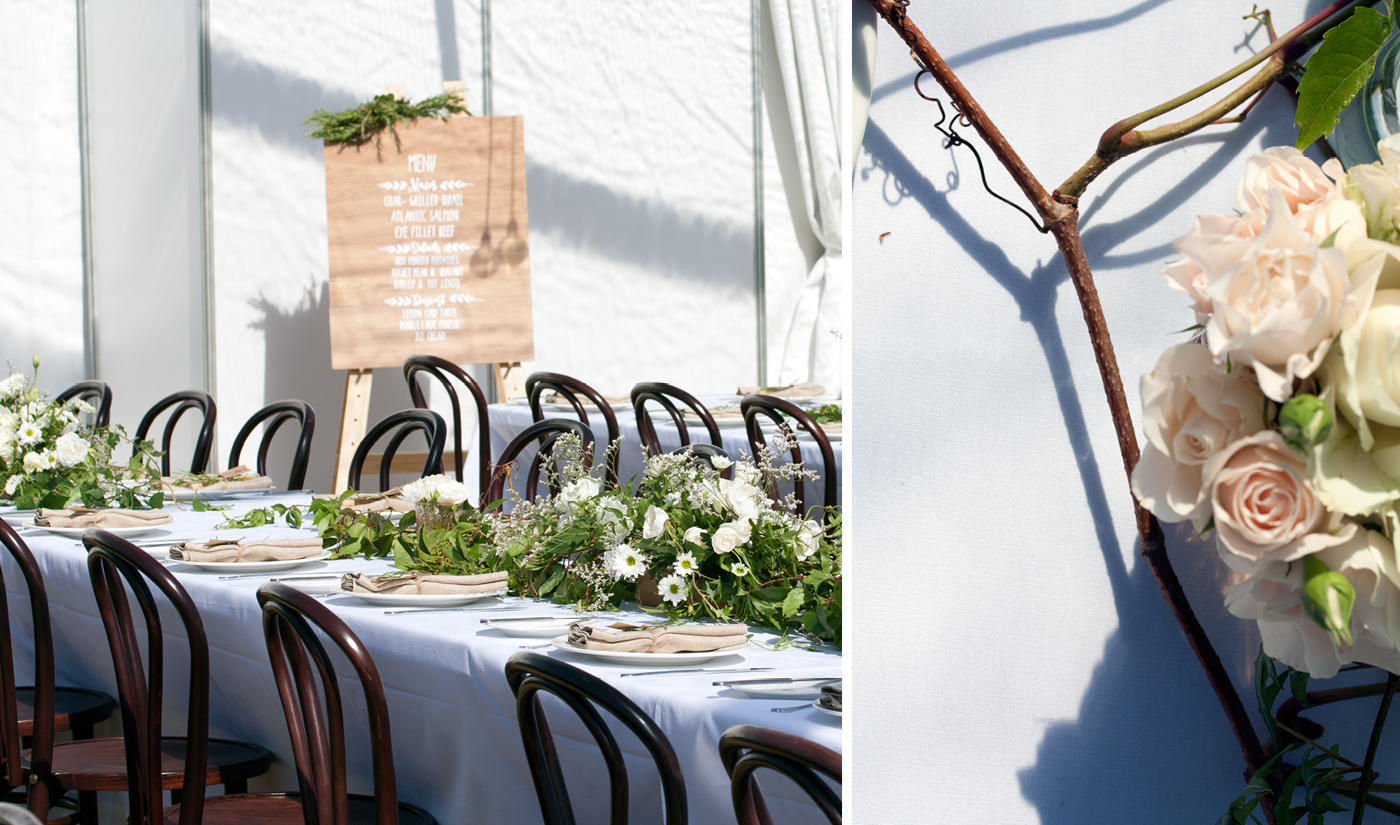 Style my day - Apogee Vineyard - Tasmanian wedding styling