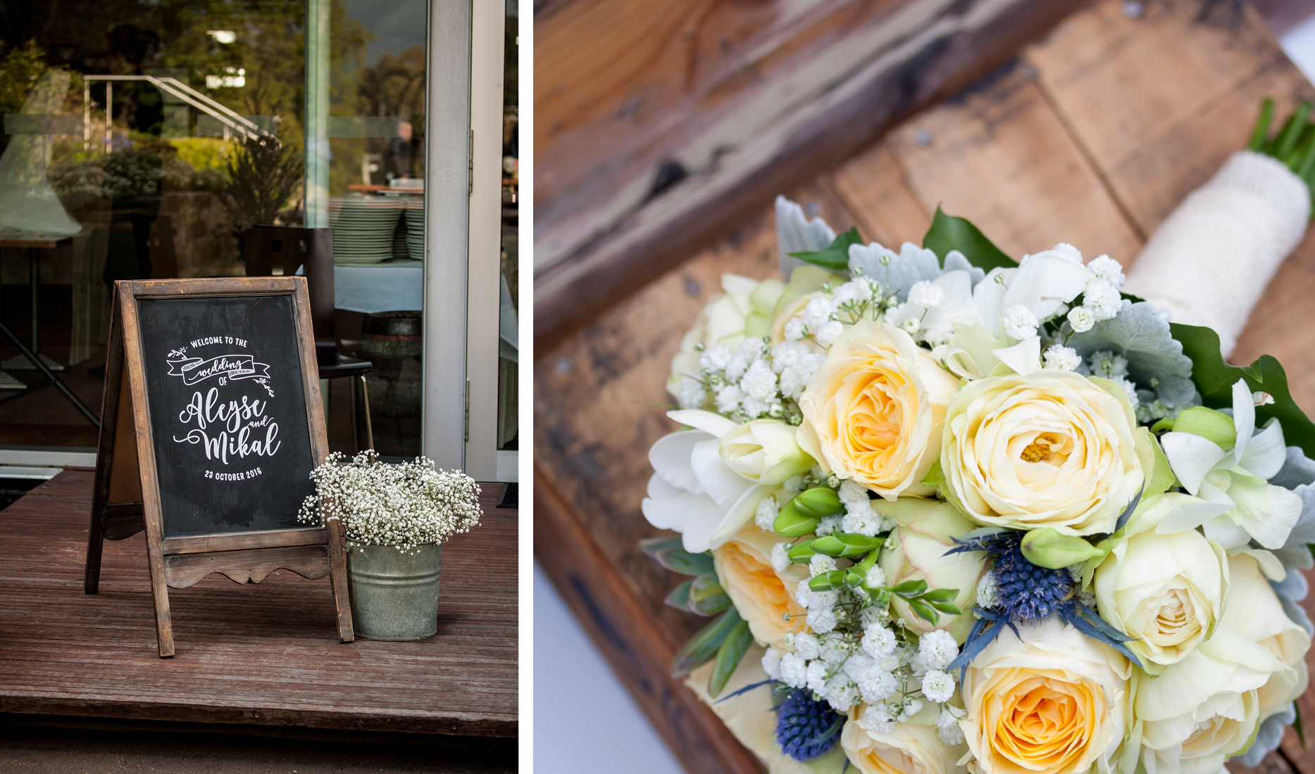 Style my day Cascade Brewery Gardens Rustic Country Wedding
