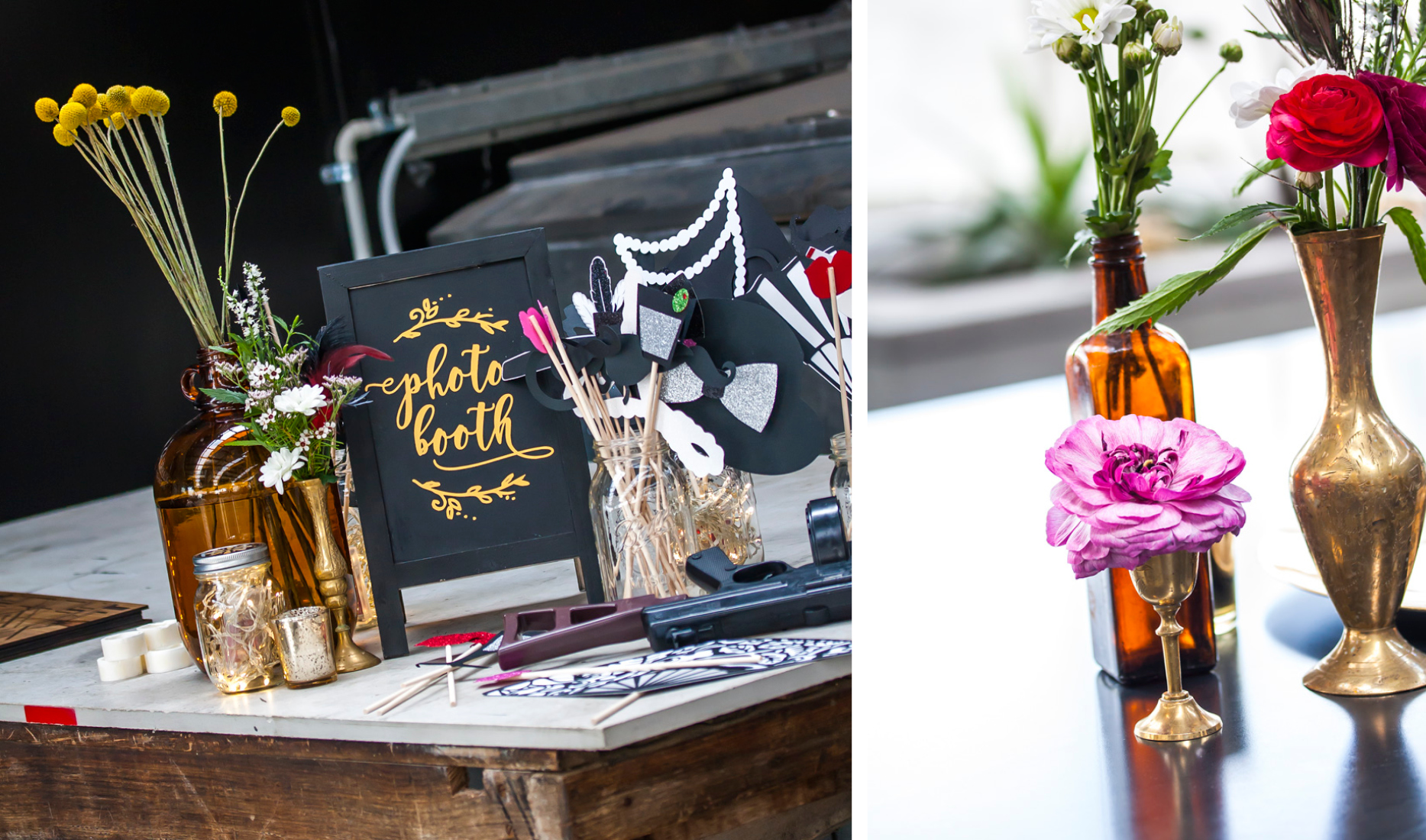 Style my day - Paula & Stewarts 1920's Art Deco inspired wedding reception