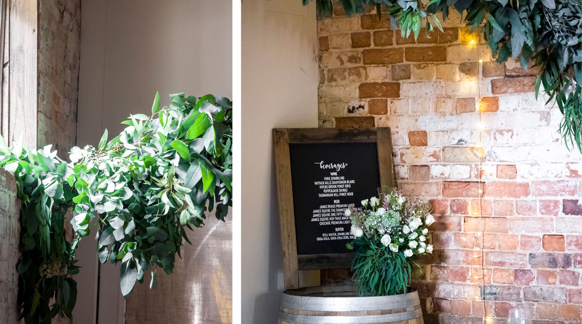 BarMenu _Port Arthur _ The Old Farm _ Wedding Styling