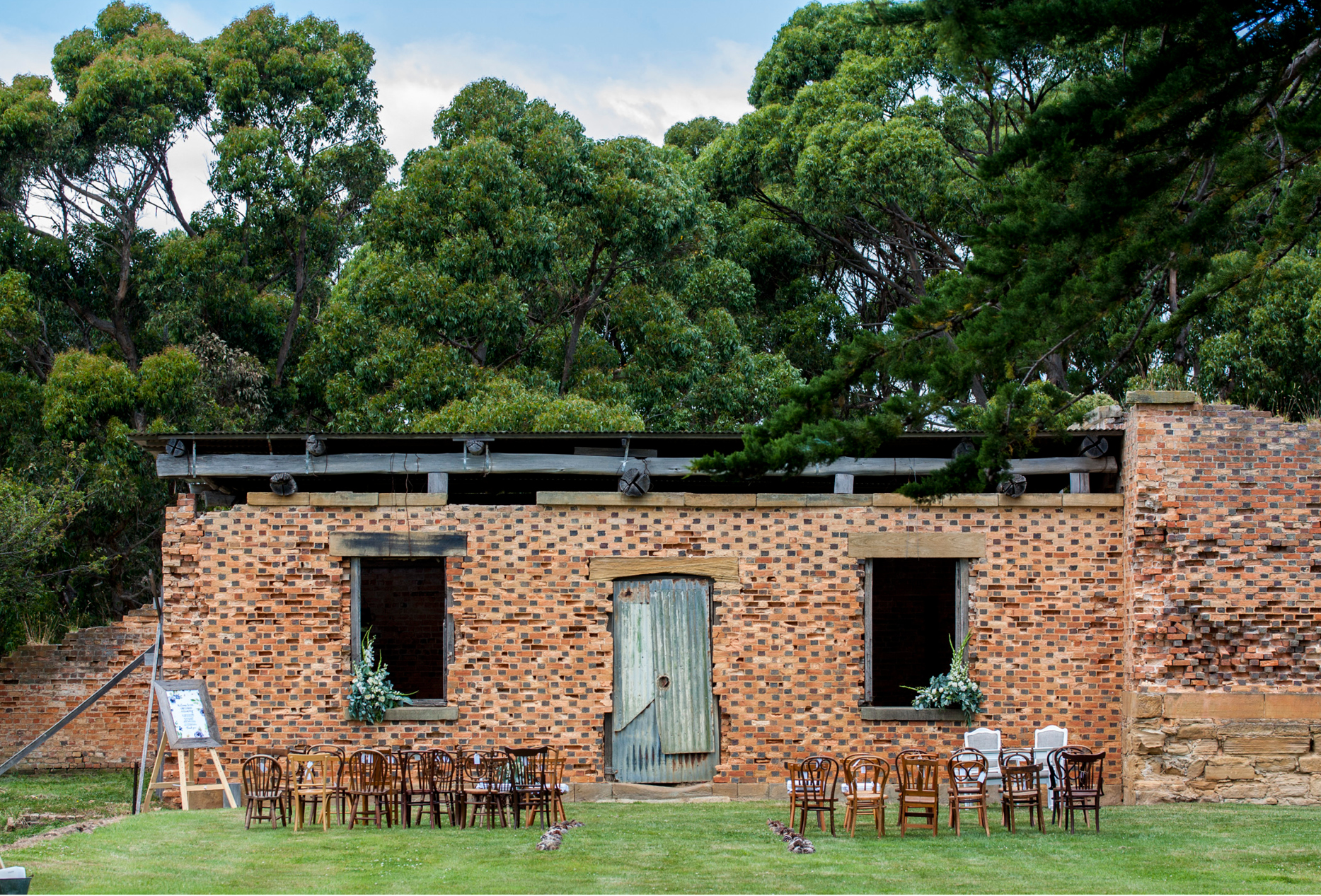 Ceremony _Port Arthur _ The Old Farm _ Wedding Styling