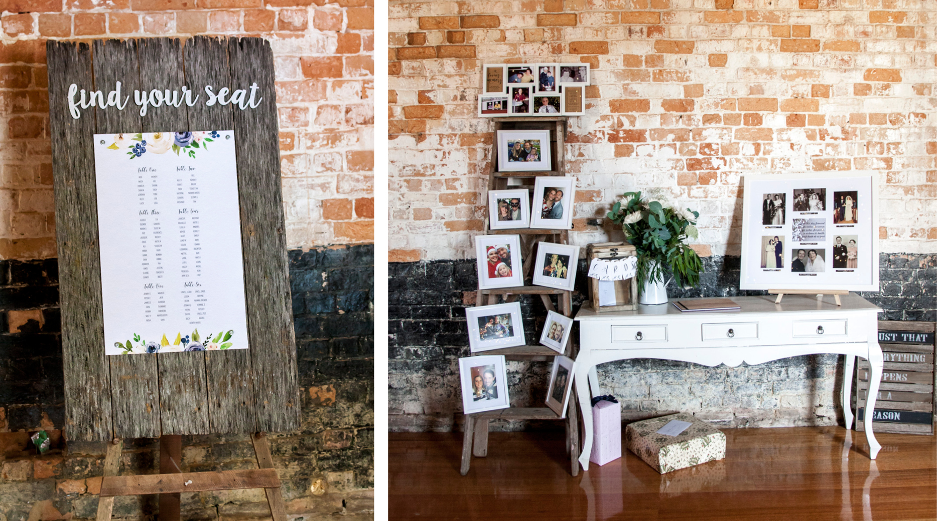 Seating Plan _Port Arthur _ The Old Farm _ Wedding Styling