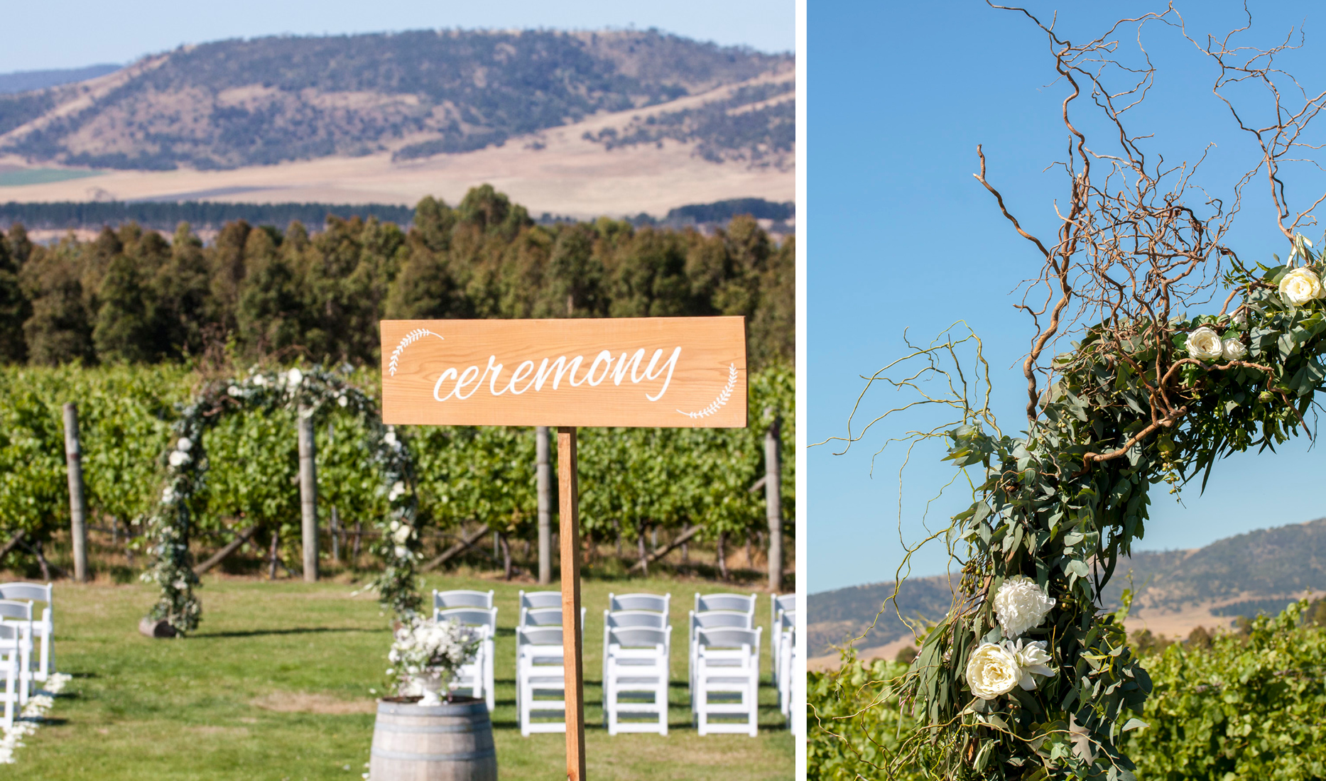 Ceremony _ Winery_ Myra and Nick_ Wedding styling _ Style my day