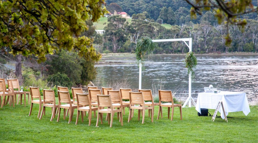 Peppermint Bay Weddings Tasmania styled wedding
