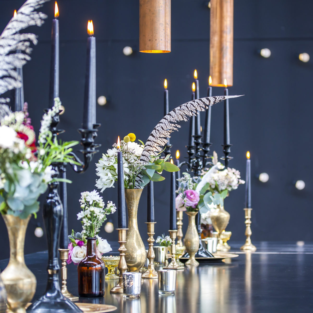 gold boho great gatsby theme